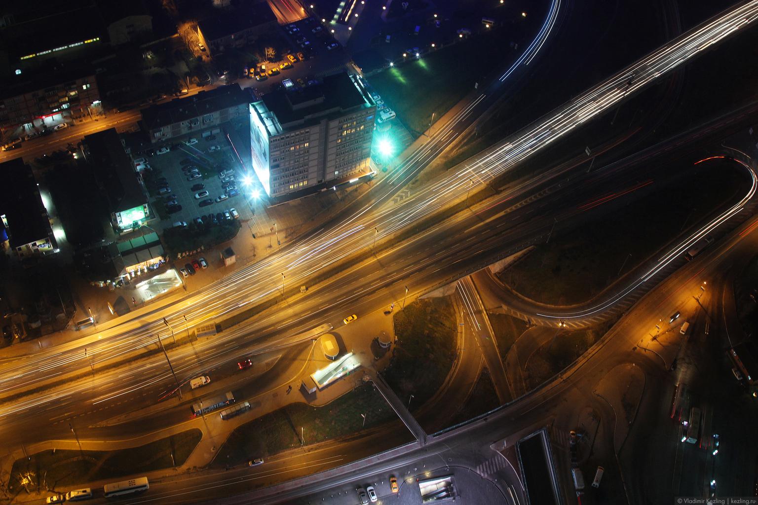 Стамбул ночной высотный или Сказ про смотровую площадку на небоскрёбе «Сапфир»