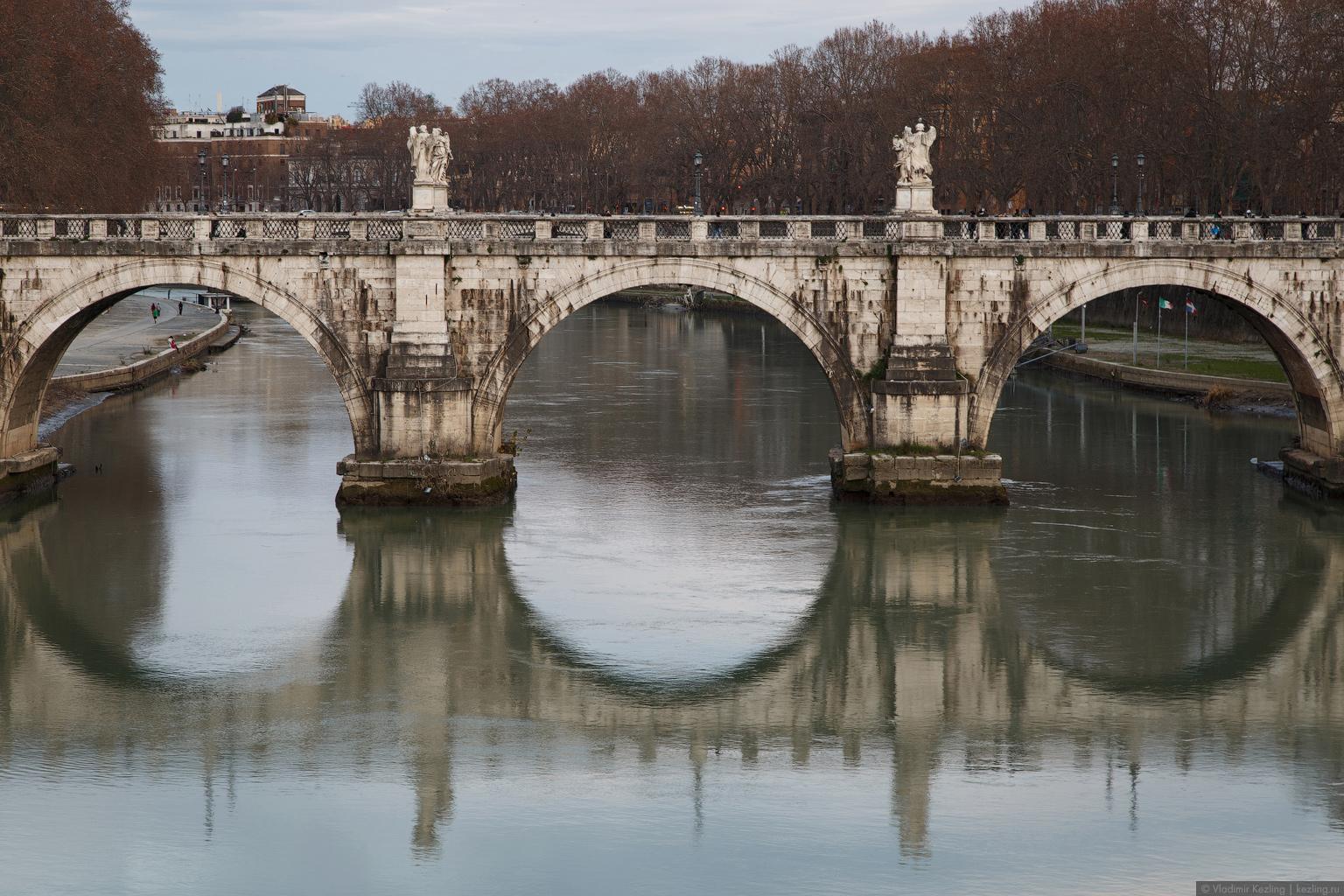 Зимняя Италия. Бессистемные блуждания по Риму. Часть 1