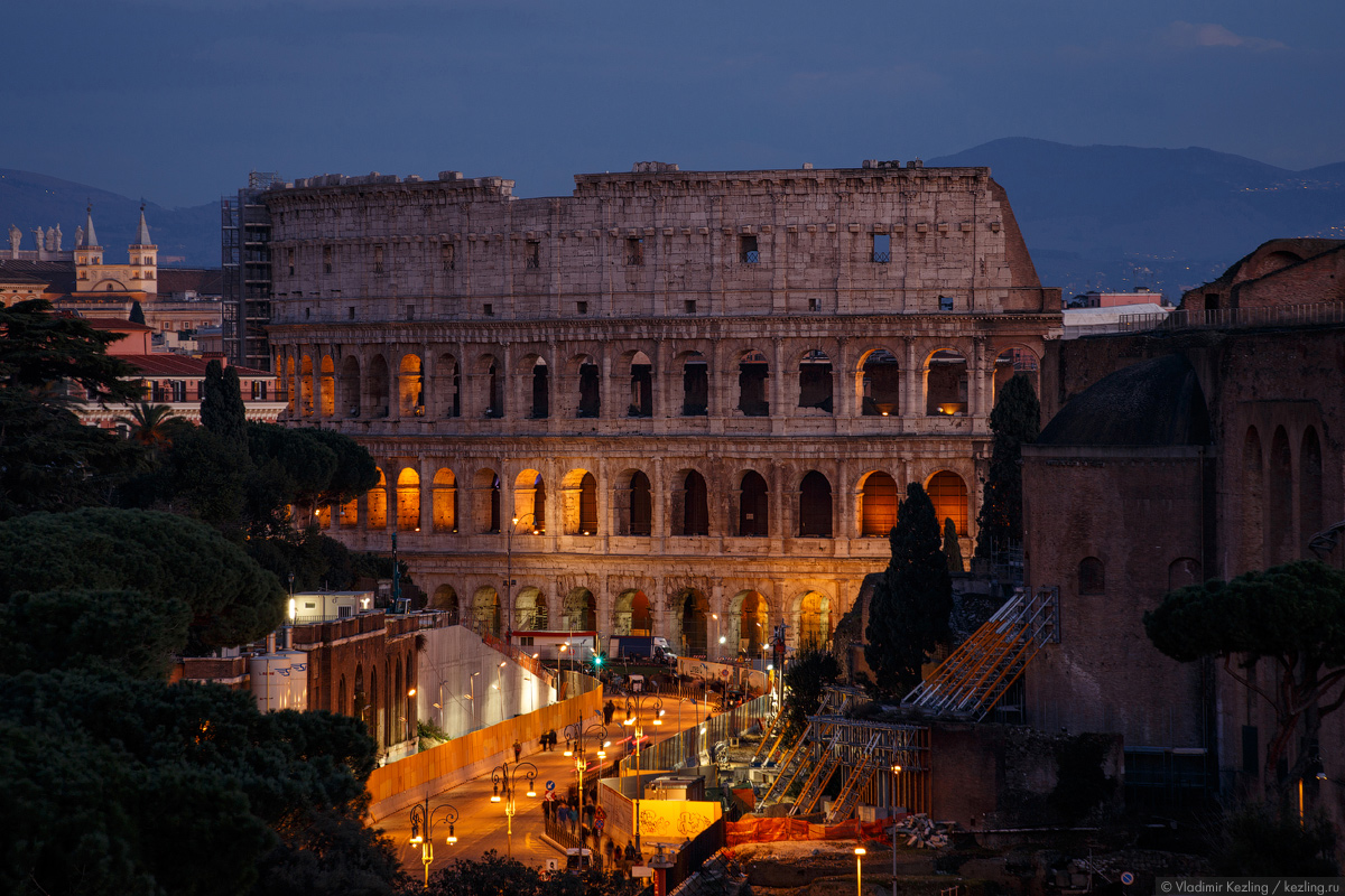 Зимняя Италия. Бессистемные блуждания по Риму. Часть 2