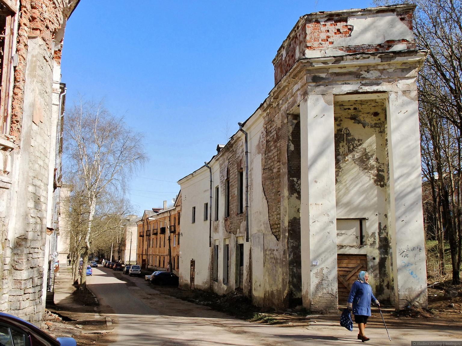 Ивангород. Парусинка