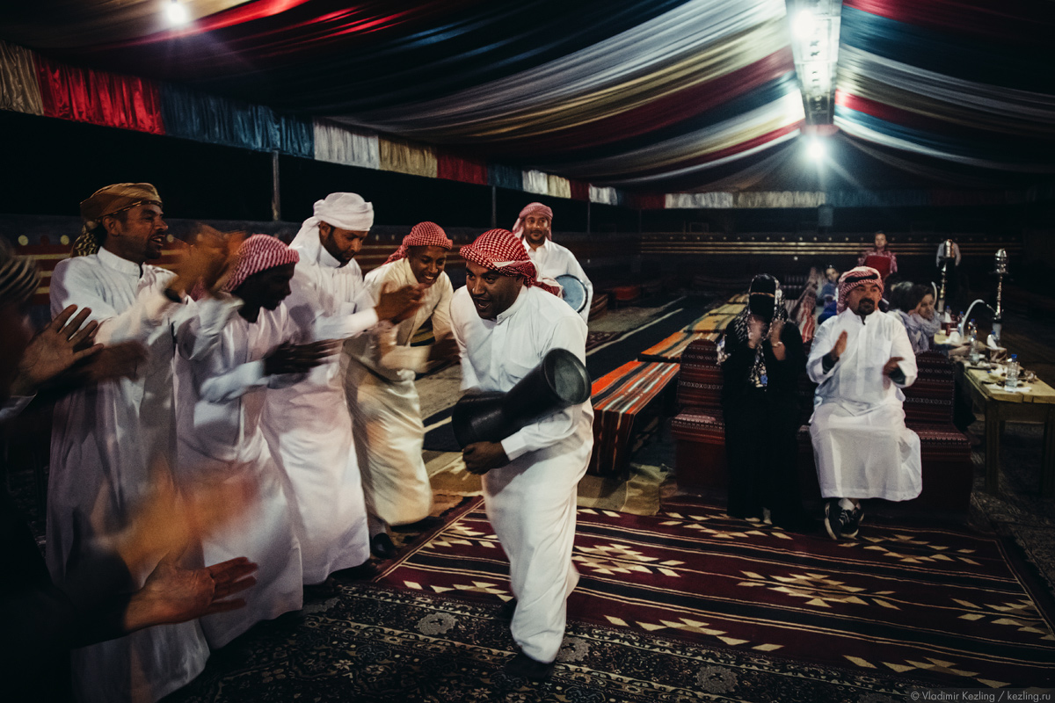 Иорданские сказки. И снова Вади Рам. Вечер в лагере бедуинов
