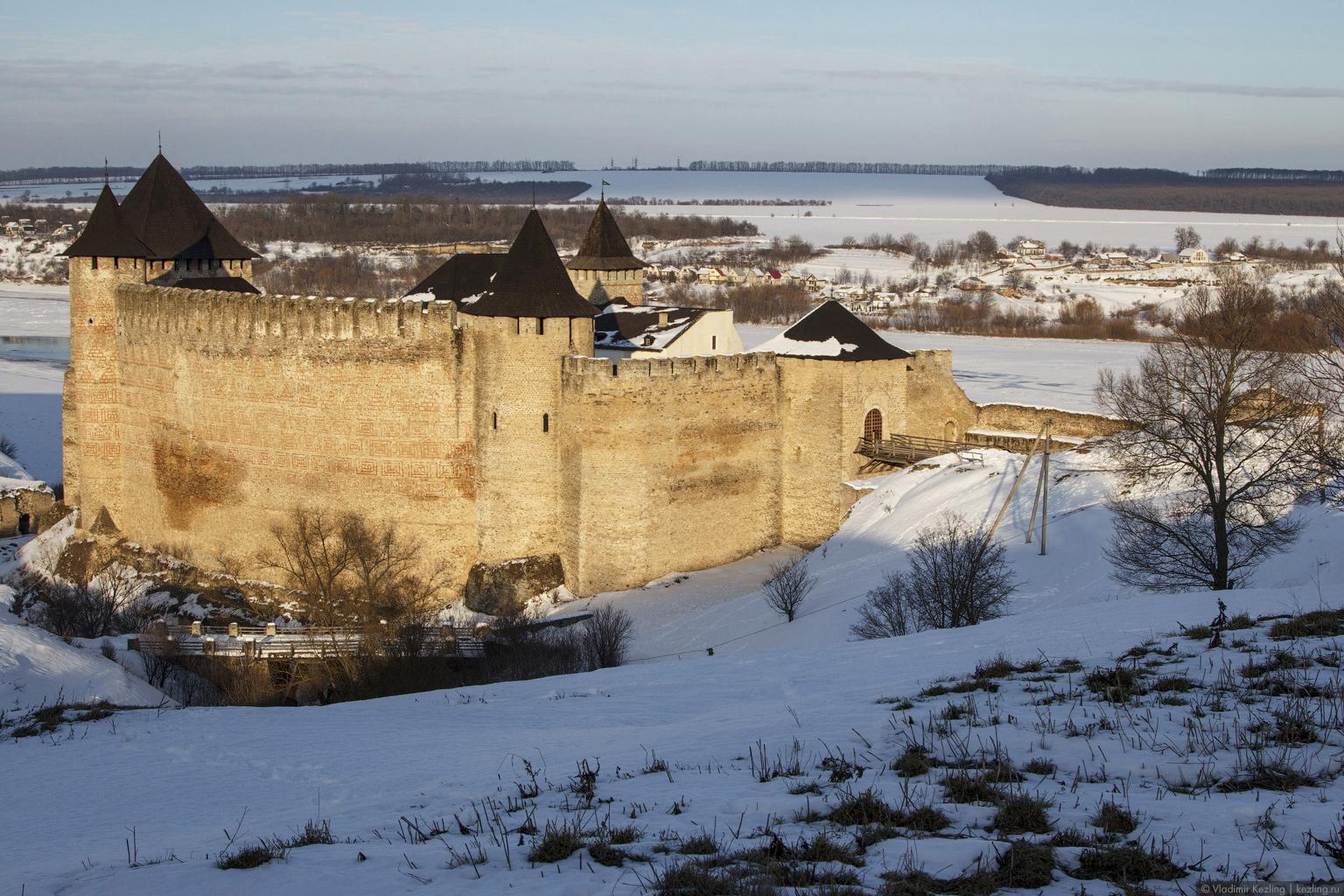 Новогодняя авантюра. Хотиньска фортеця