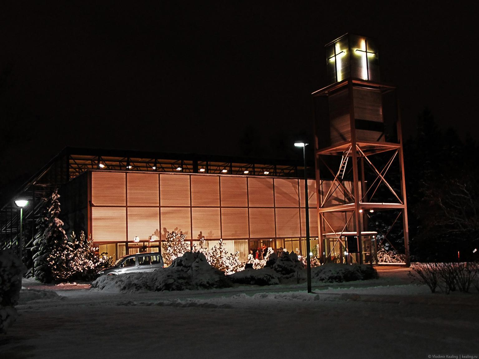 Центральная церковь Коуволы