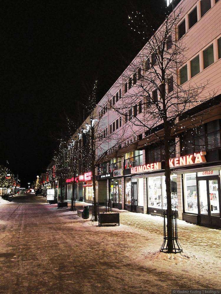 Центральная пешеходная улица Коуволы