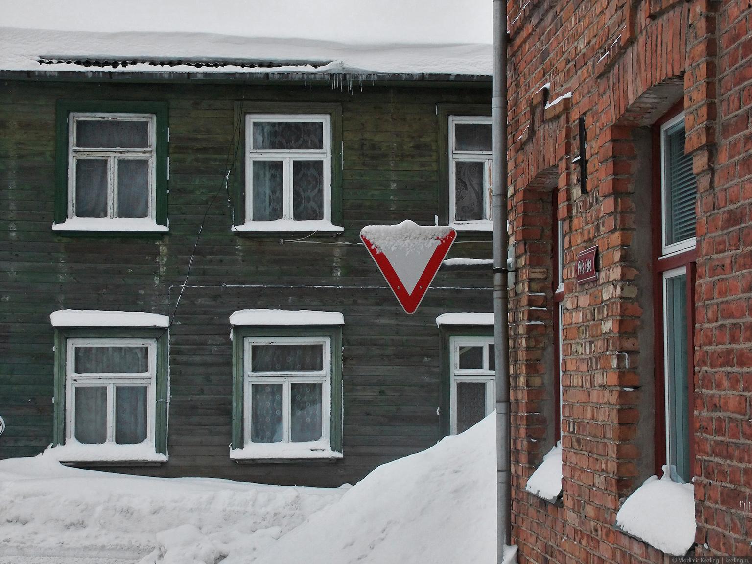Зимняя Латвия. Лимбажи