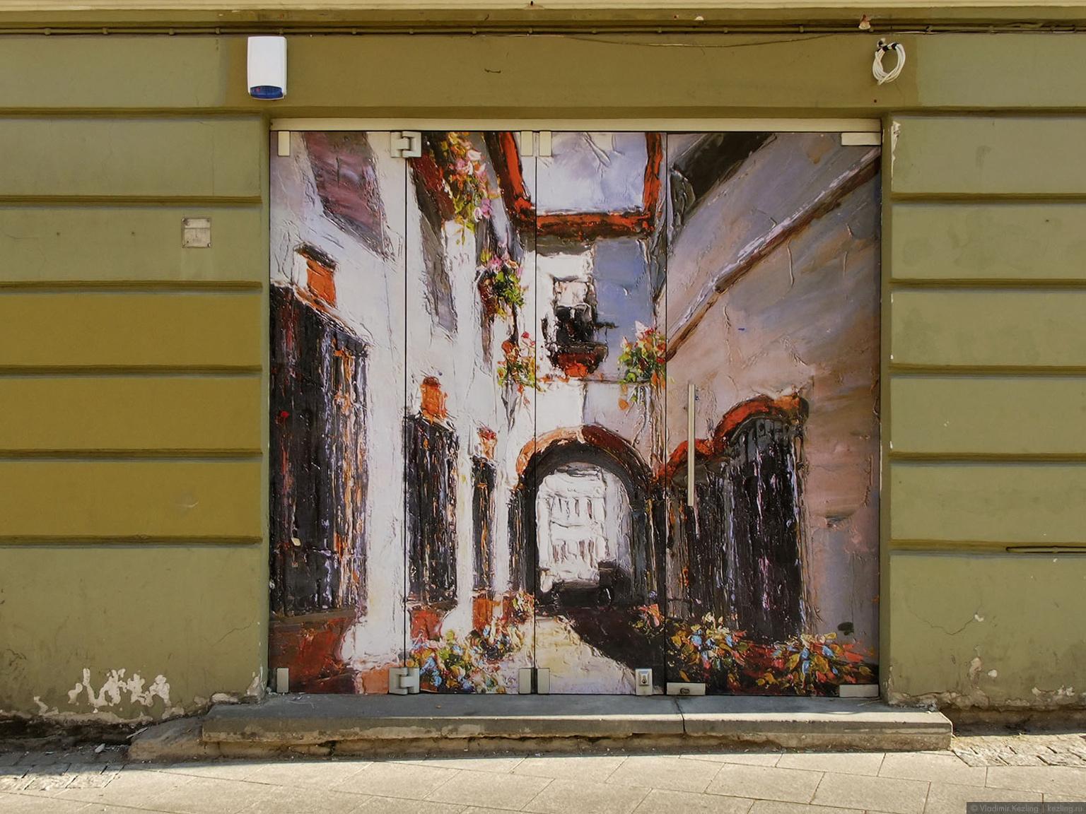 Вильнюсское граффити