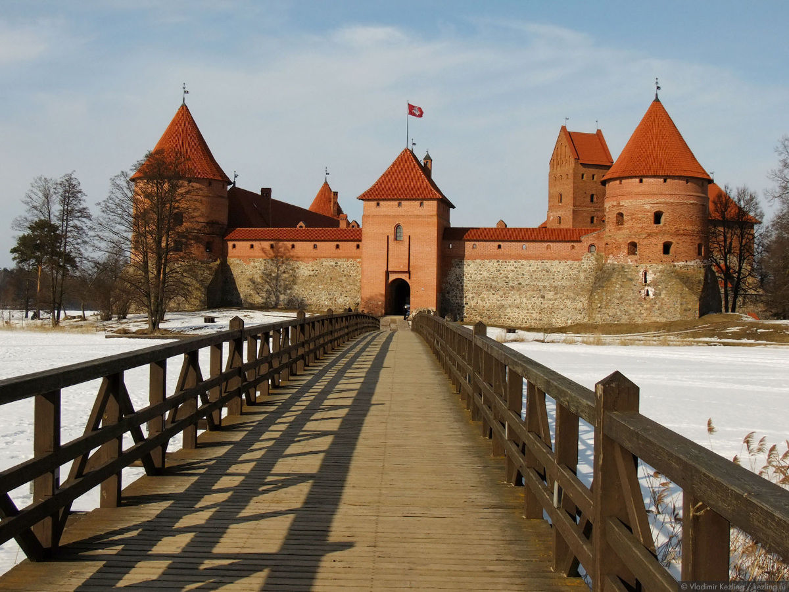 Весенняя Литва. Тракай