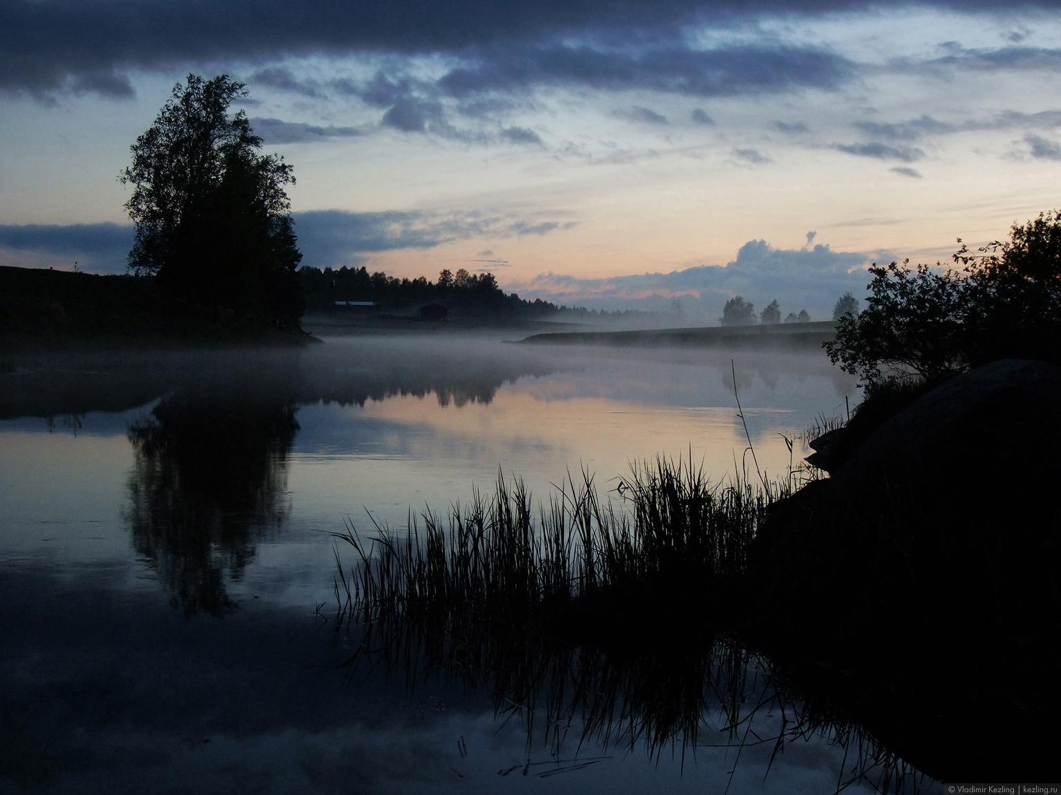 Затерявшись в финских лесах. Вечера на хуторе