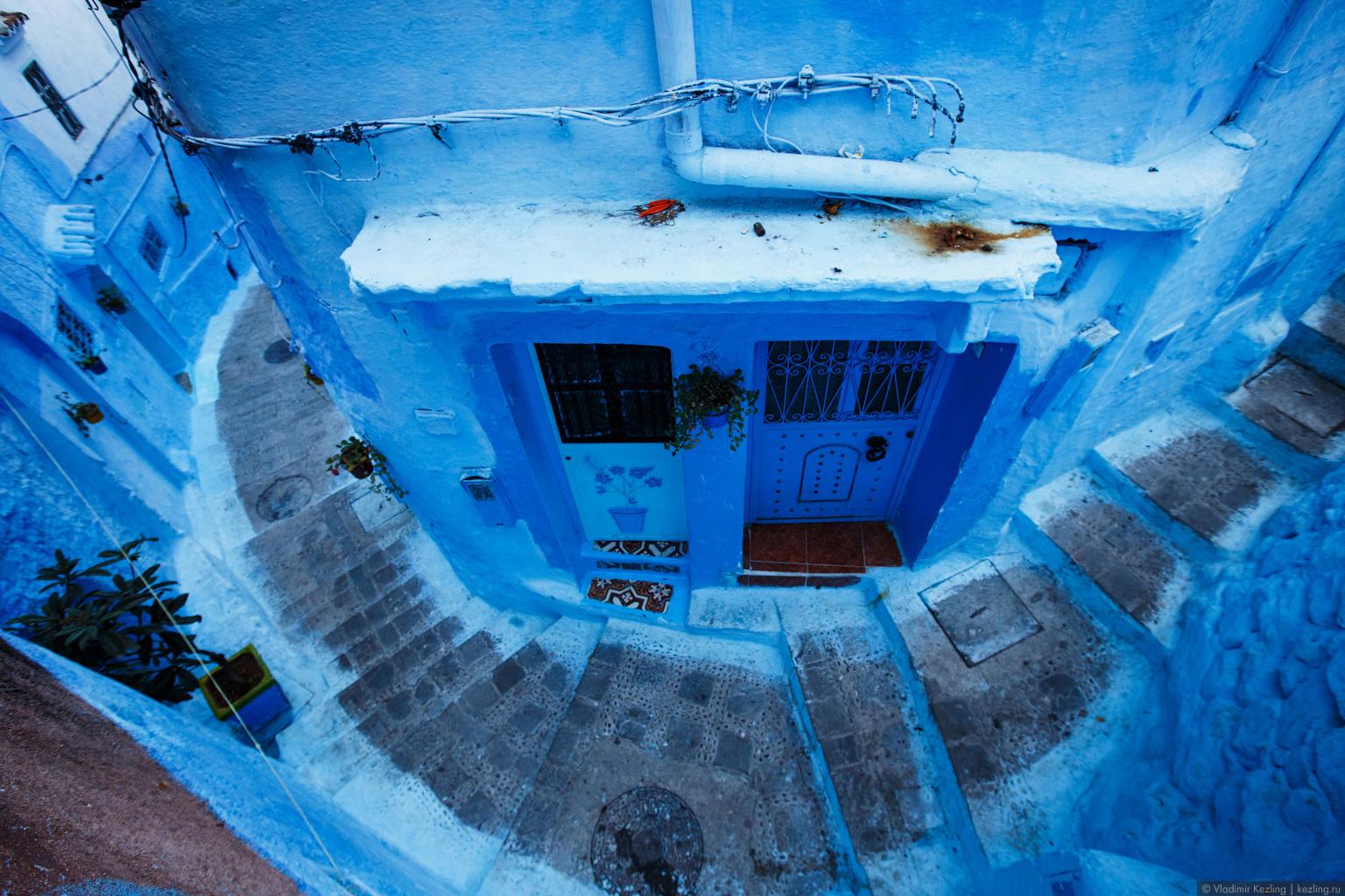 Марокканские сказки. Шефшауэн. Пятьдесят оттенков синего