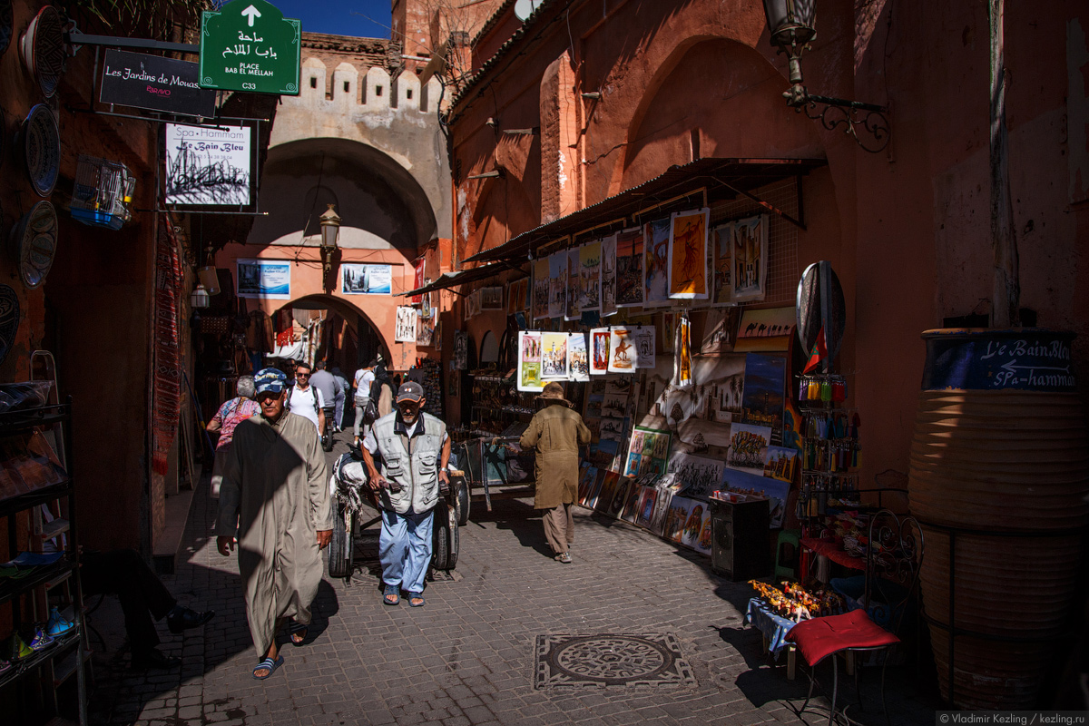 Марокканские сказки. Его величество Марракеш