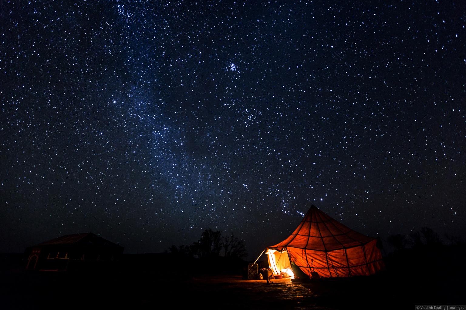 Марокканские сказки. Пустыня Сахара. Эрг Шигага