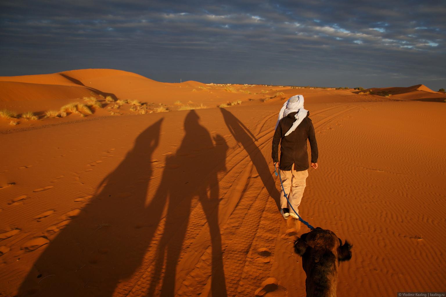 Марокканские сказки. Пустыня Сахара. Эрг Шебби