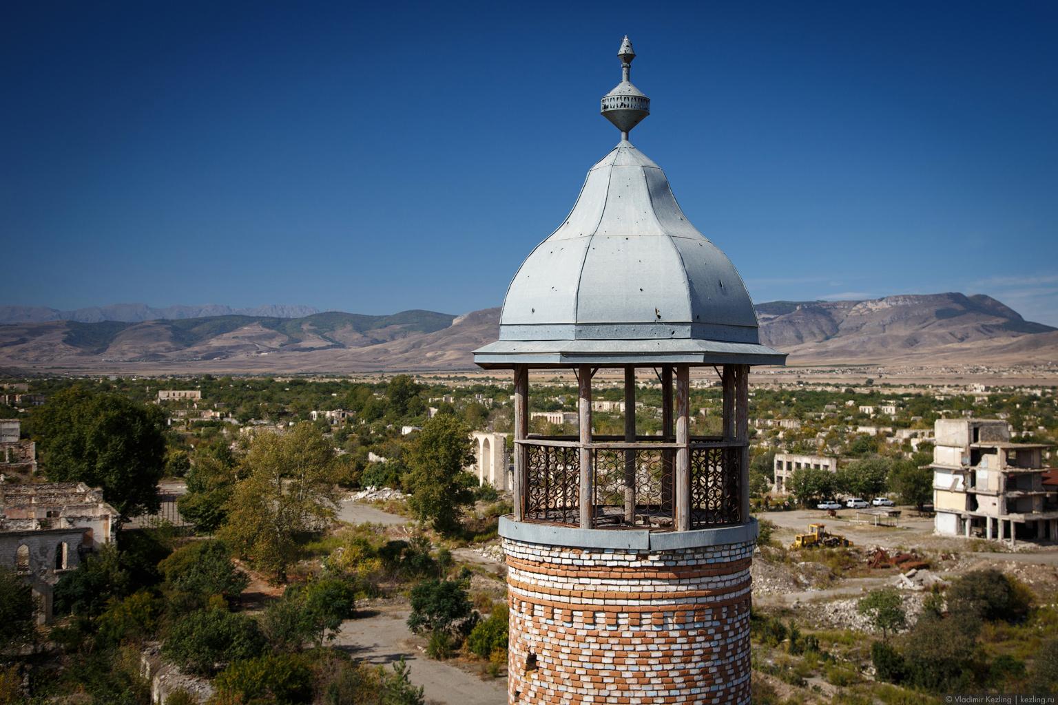 Закавказская осень. Нагорный Карабах. Эхо войны: Шуши и Агдам