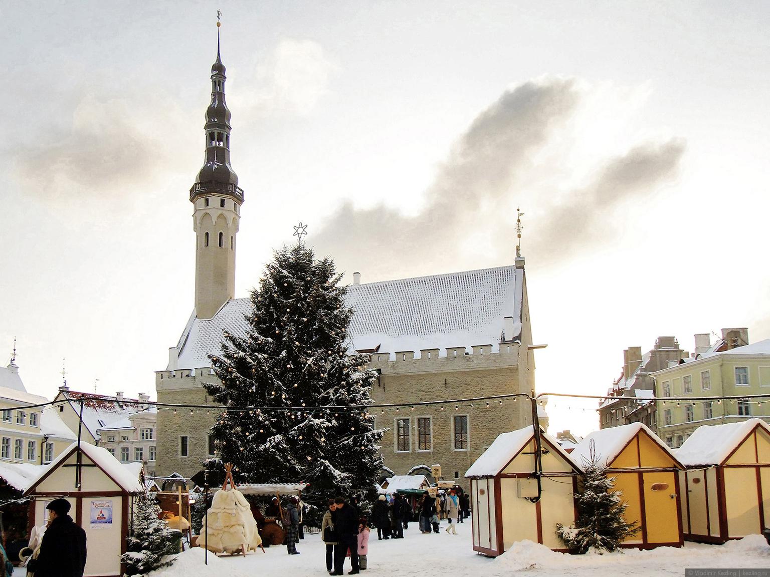 Новогодняя повесть. Старый город Таллина: Нижний город