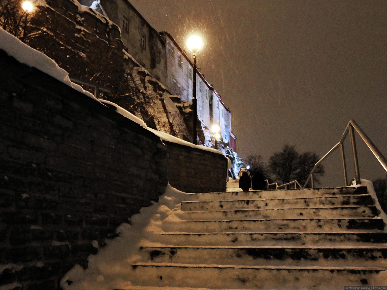 Лестница в Вышгород