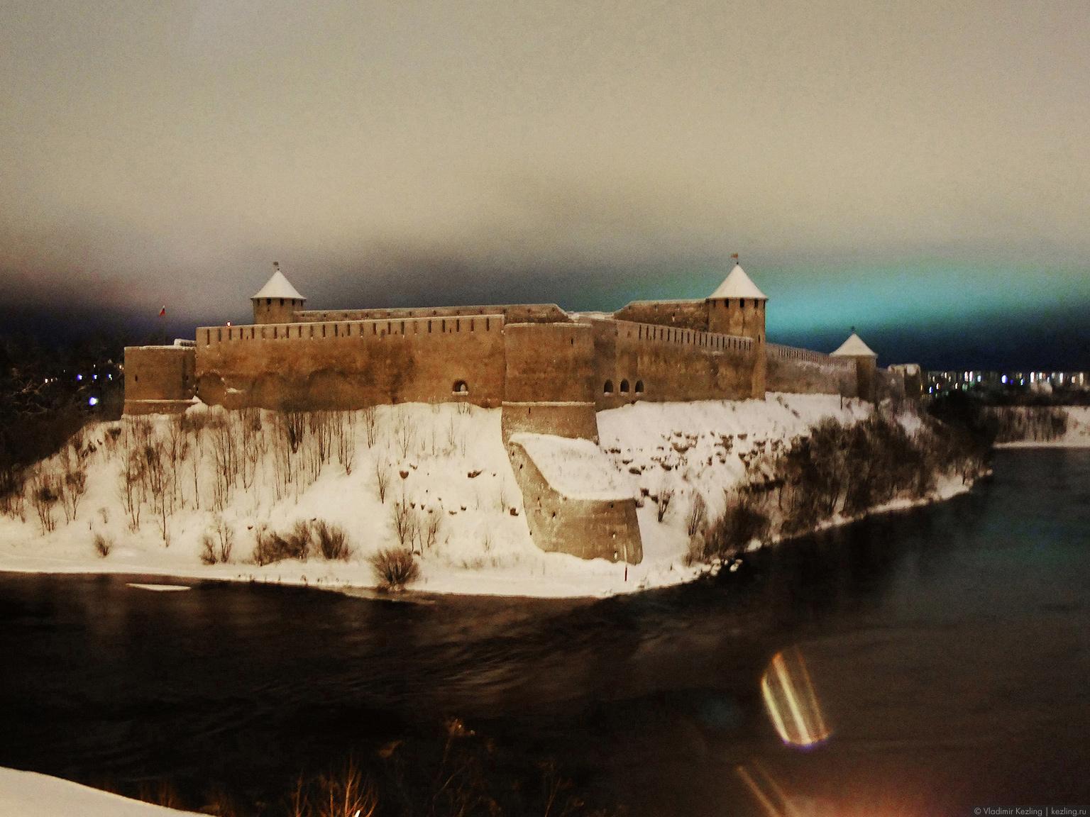 Новогодняя повесть. Зарисовка с эстонско-российской границы