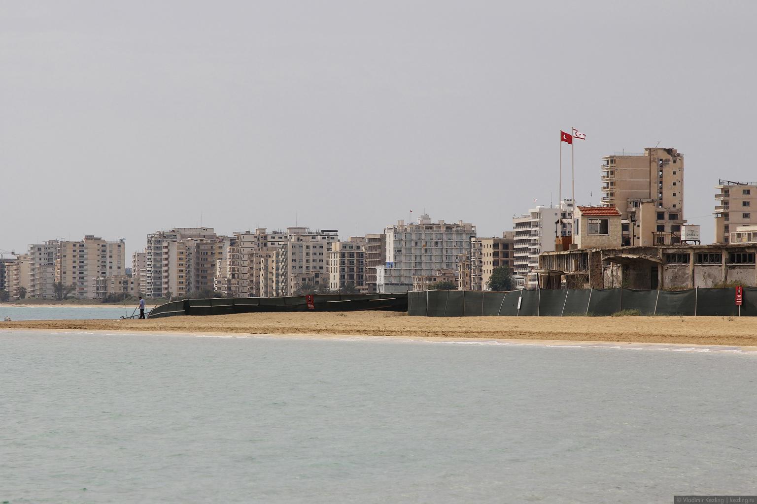 Поговорим о Кипре. Северный Кипр. Фамагуста (Газимагуса) и Вароша (Мараш)