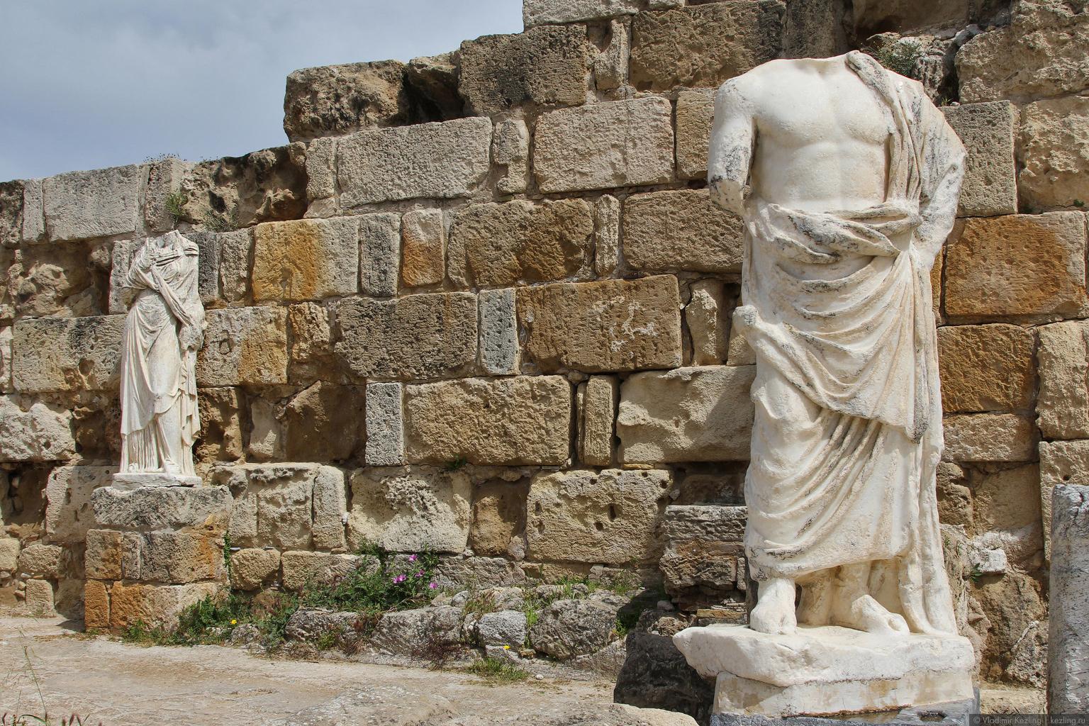 Поговорим о Кипре. Северный Кипр. Саламис