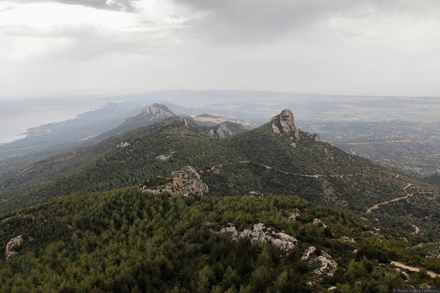 Остров Кипр. Северный Кипр. Замок Кантара