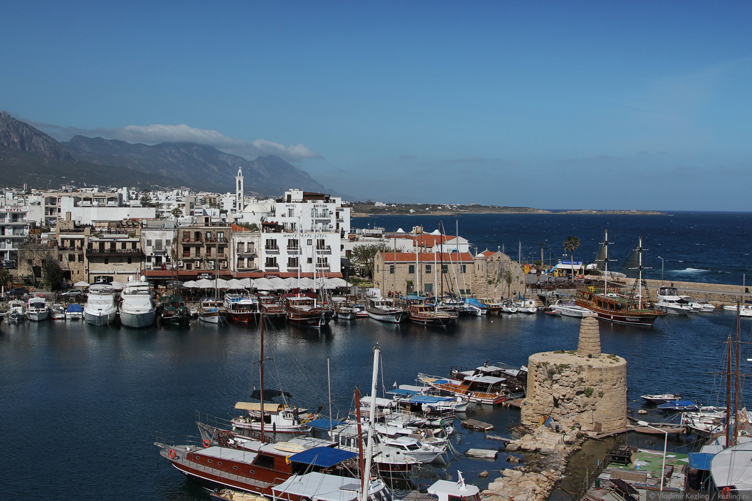 Остров Кипр. Северный Кипр. Кирения (Гирне)