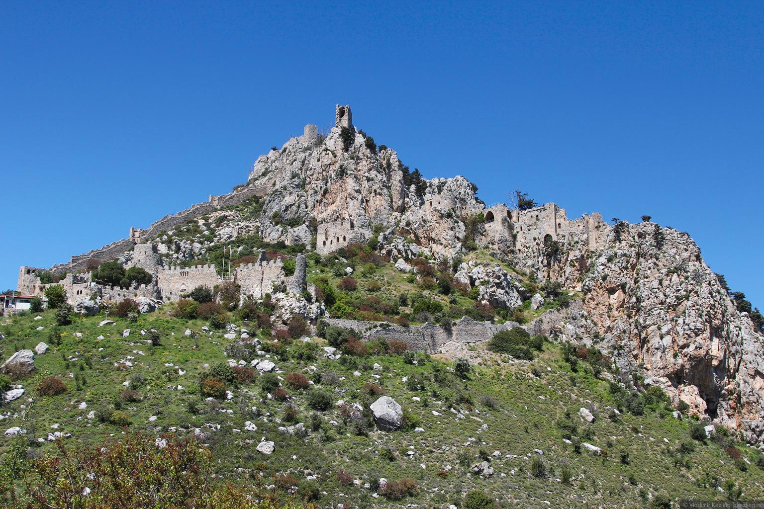Остров Кипр. Северный Кипр. Замок Святого Иллариона