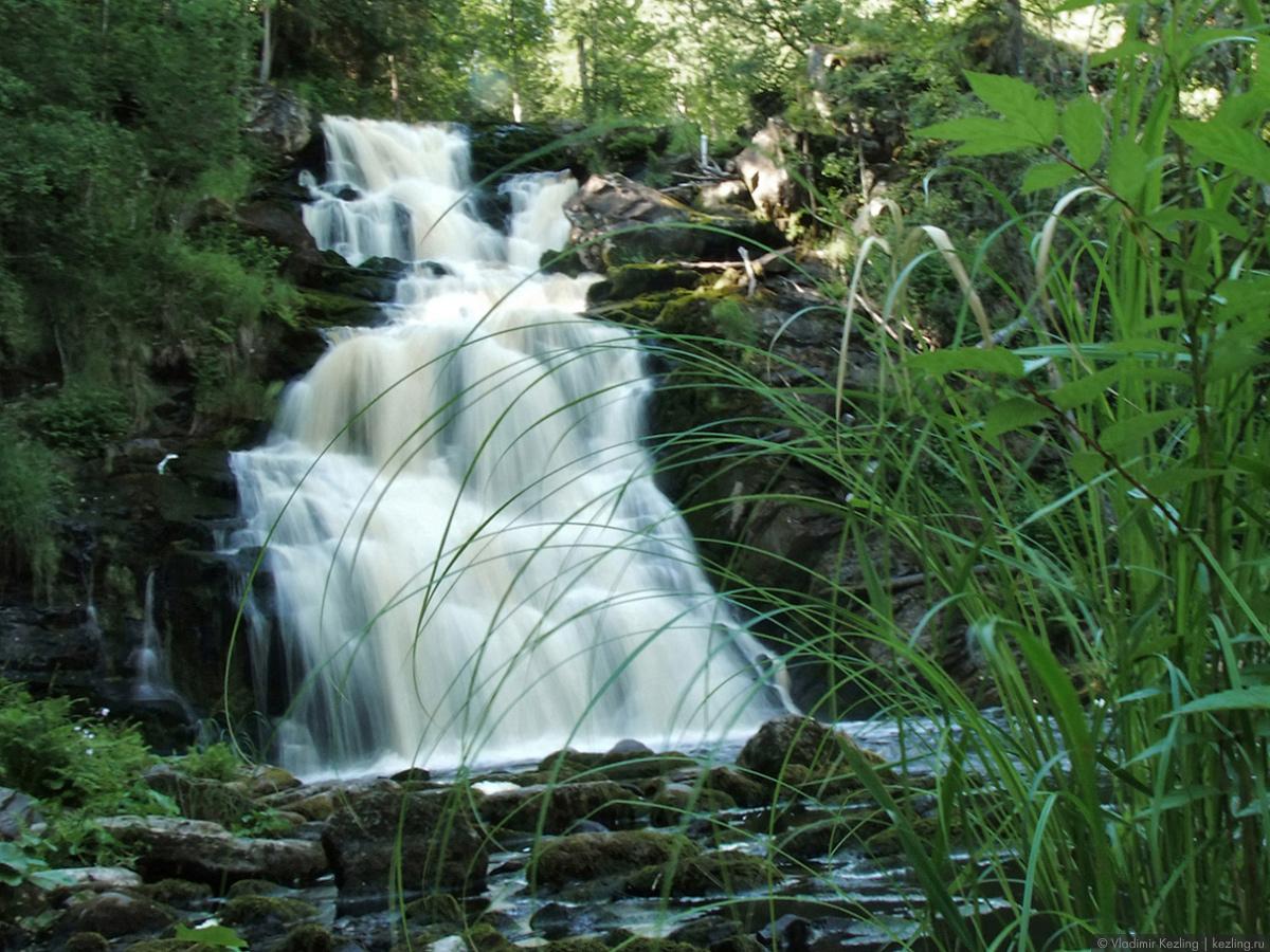 Северное Приладожье. Как добраться до водопадов?