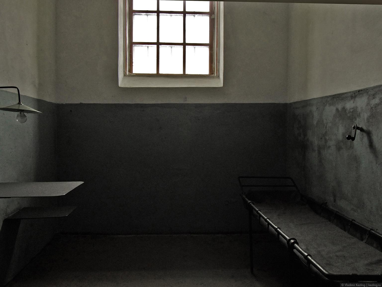 Камера в новой тюрьме
