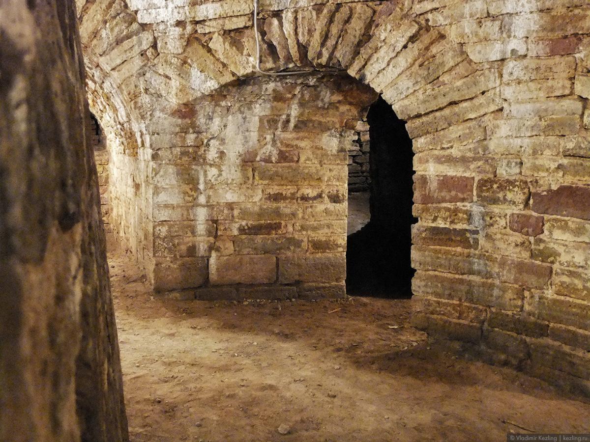 Подземелья Мельничной башни