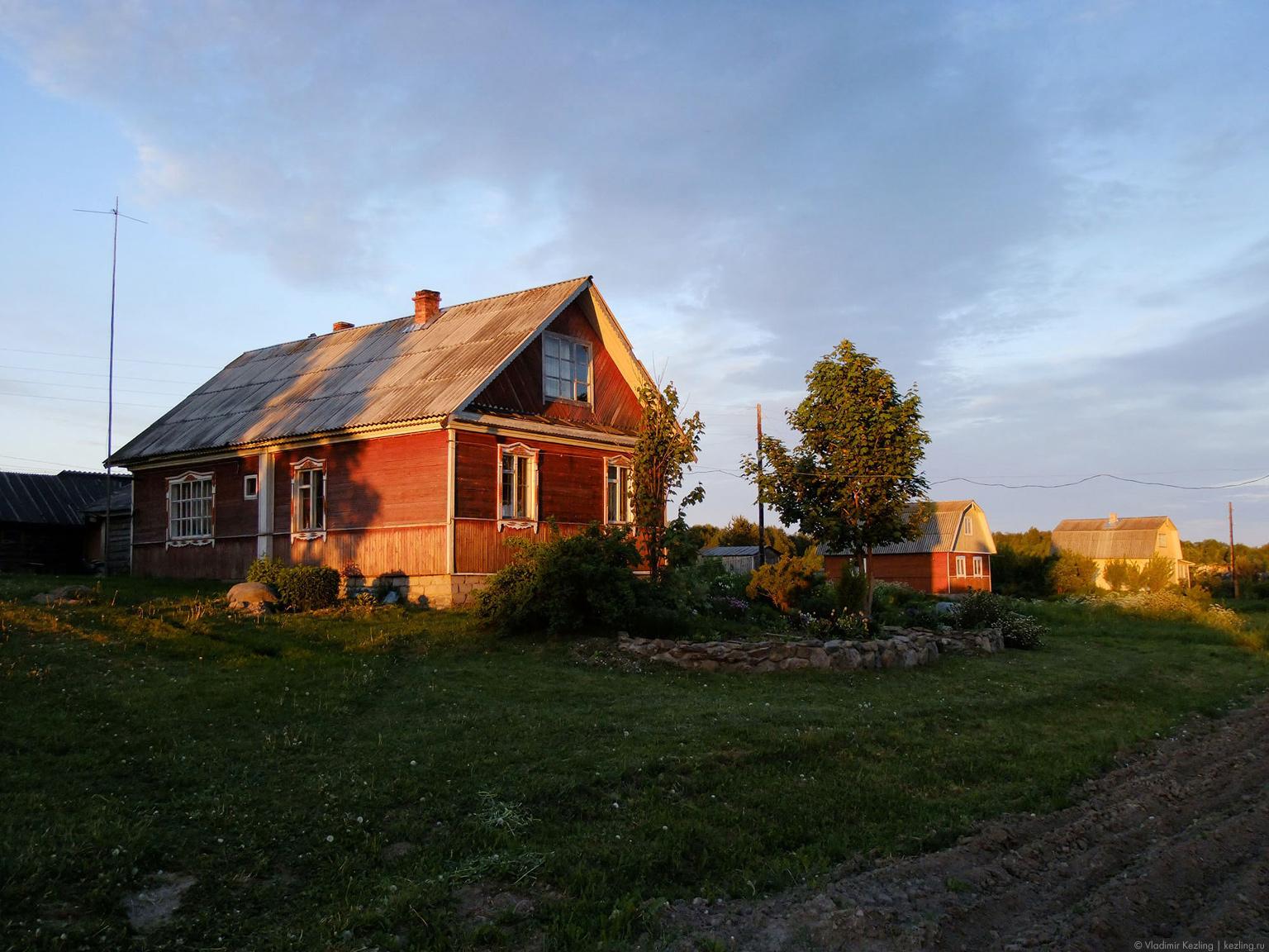 Карельская деревня