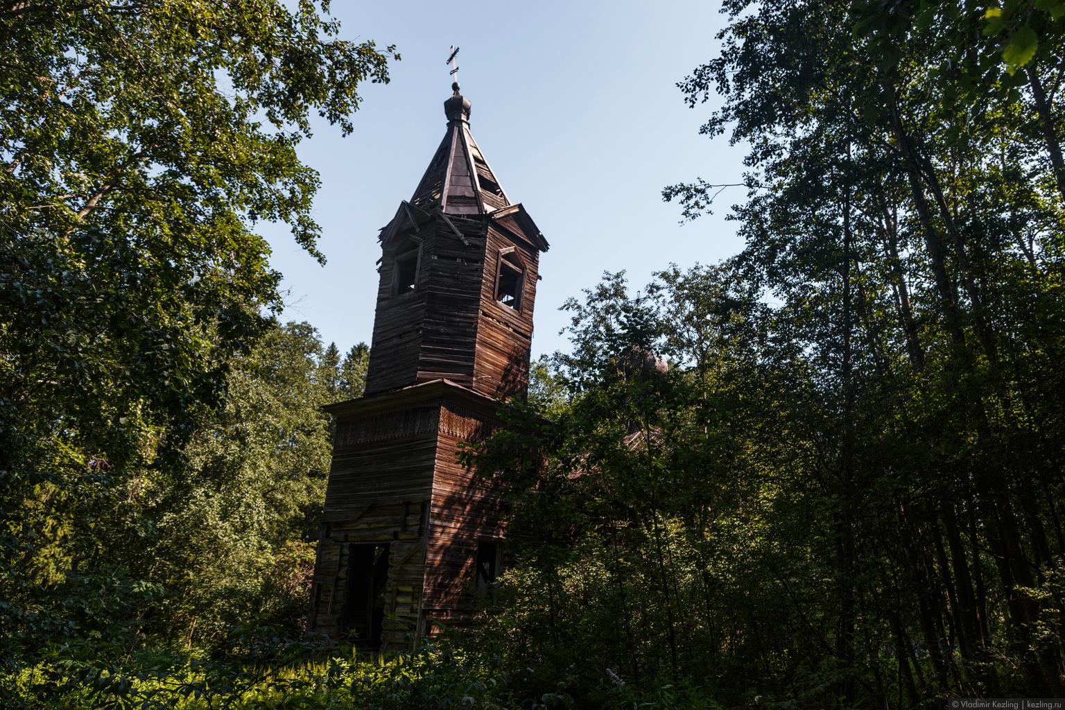 Затерянная церковь в деревне Поддубье