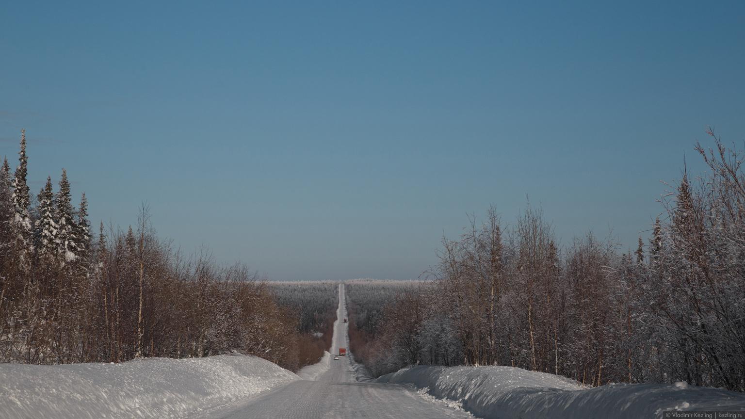 Зимник на Нарьян-Мар