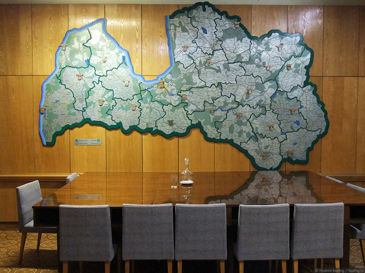 Зимняя Латвия. Объект «Пансионат»