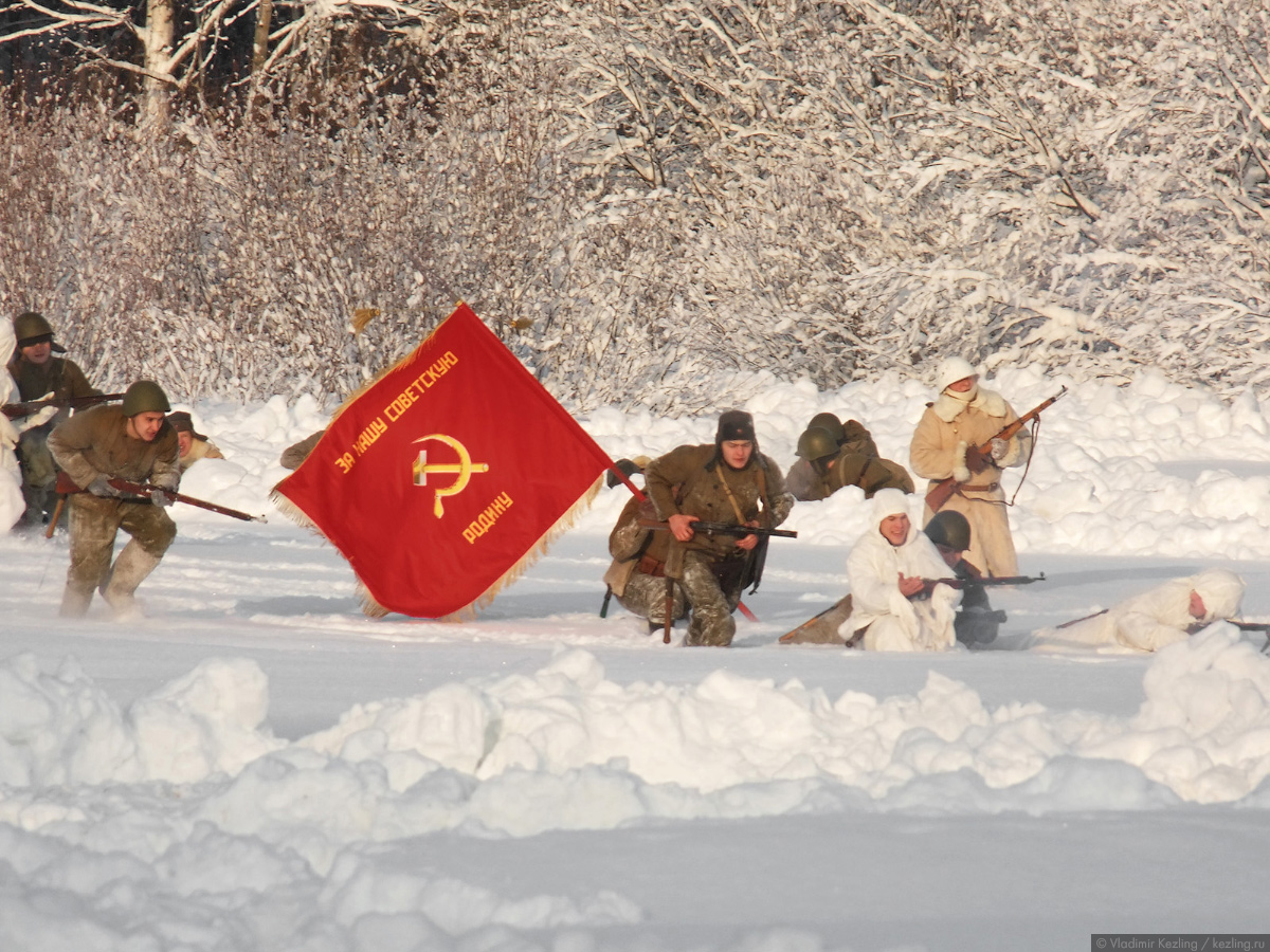В Перевозе снова война