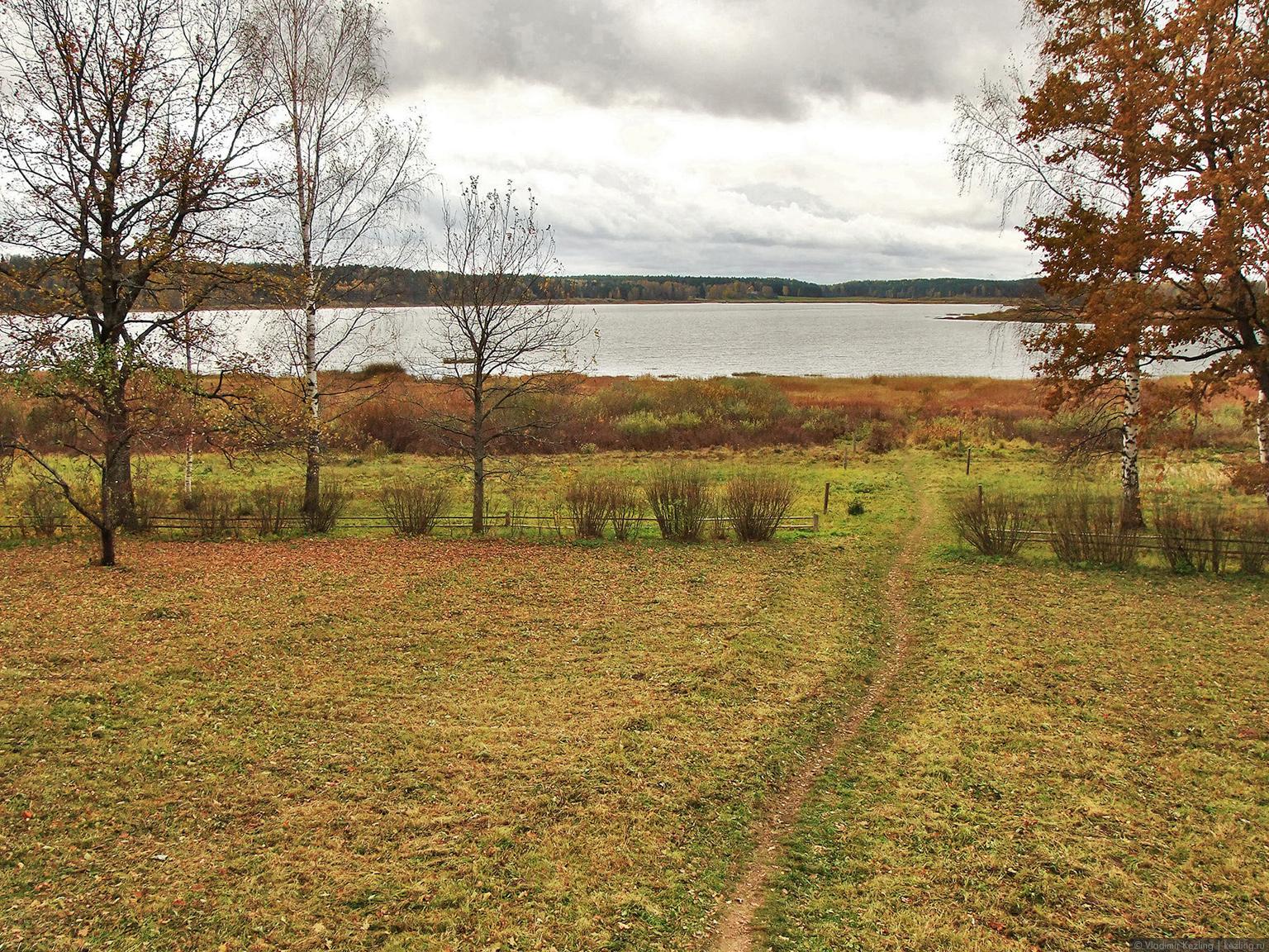Вид на озеро Кучане