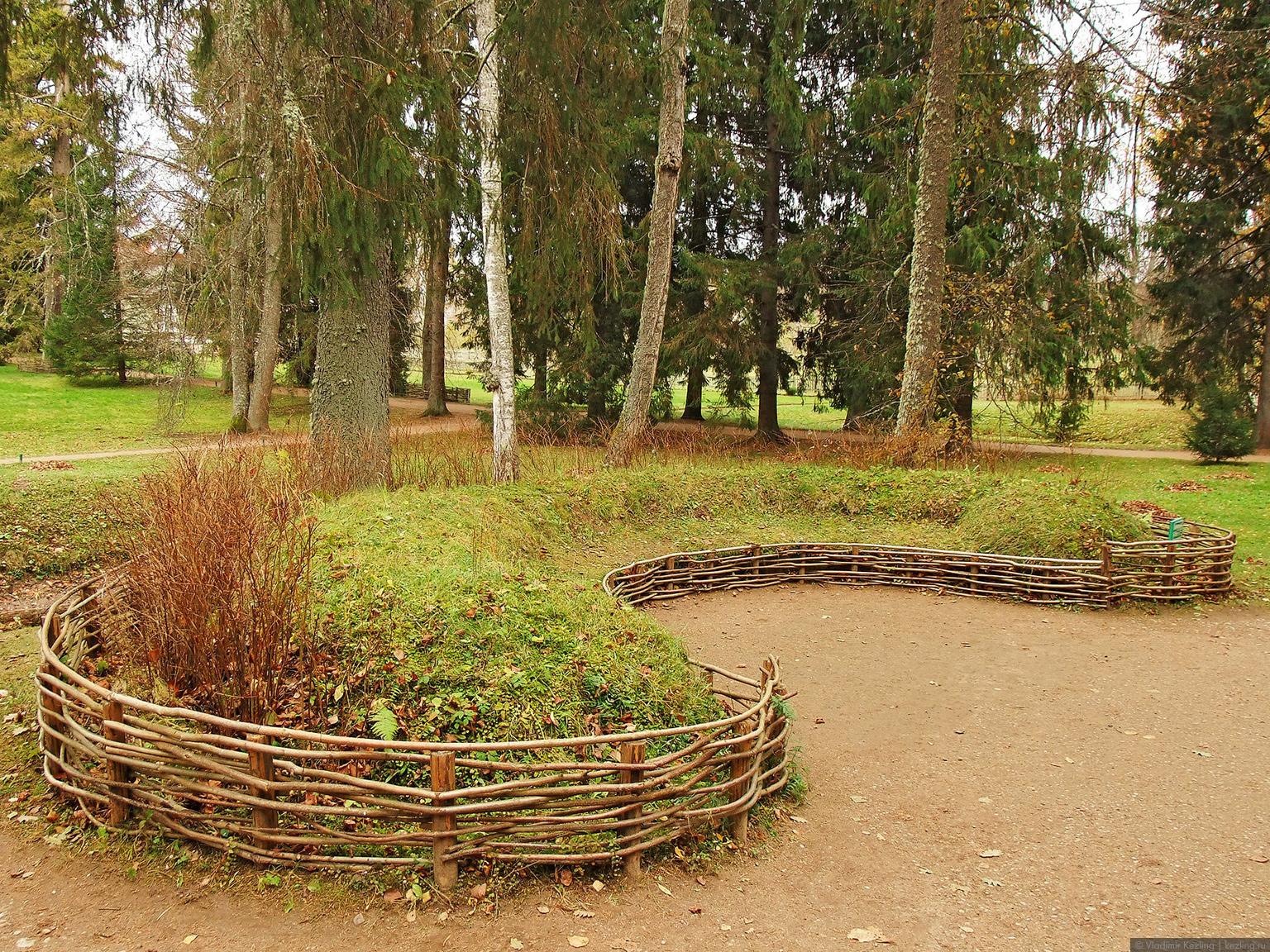 Зеленая скамья