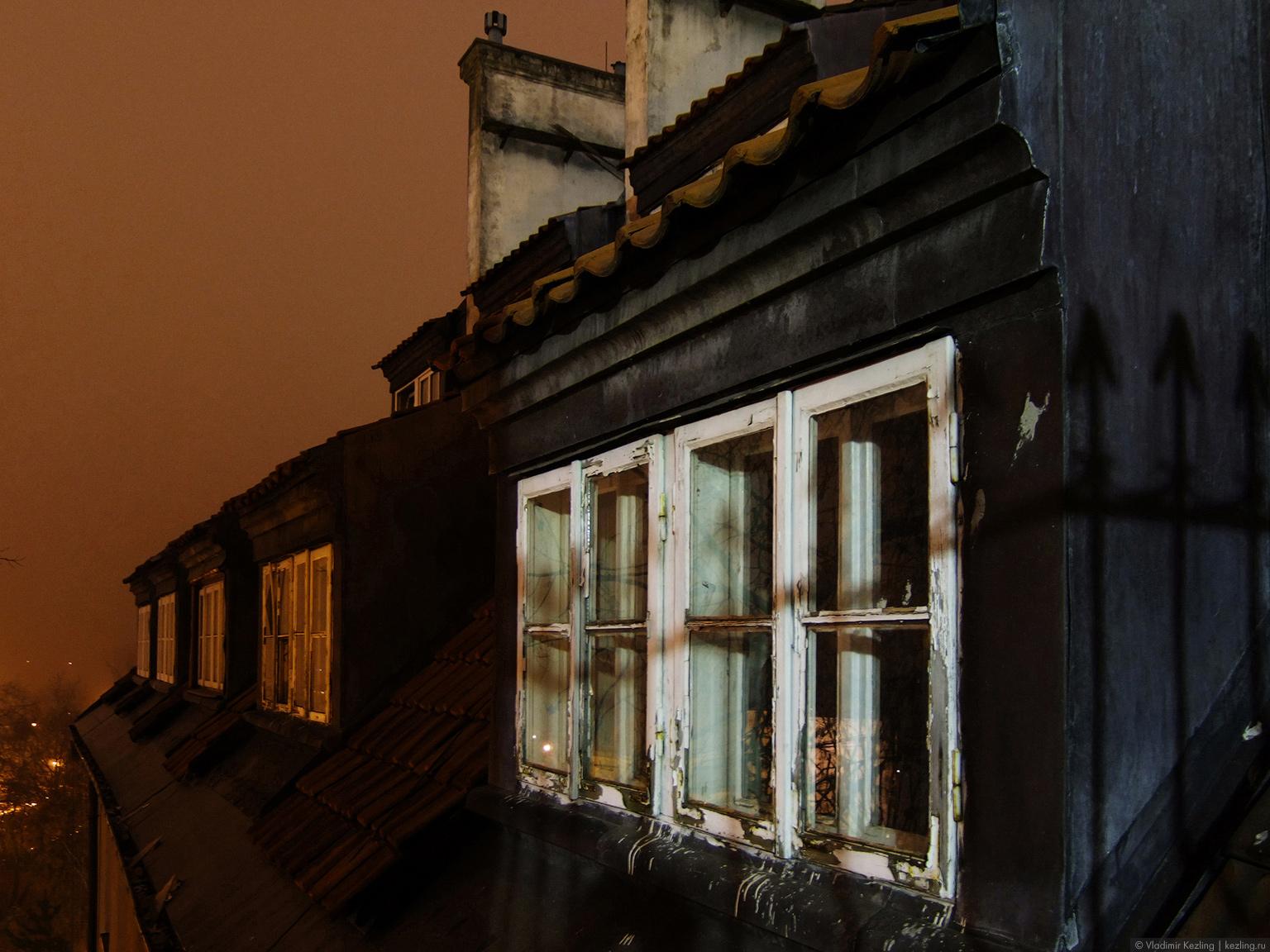 Польские туманы. Варшава. Вечерняя прогулка