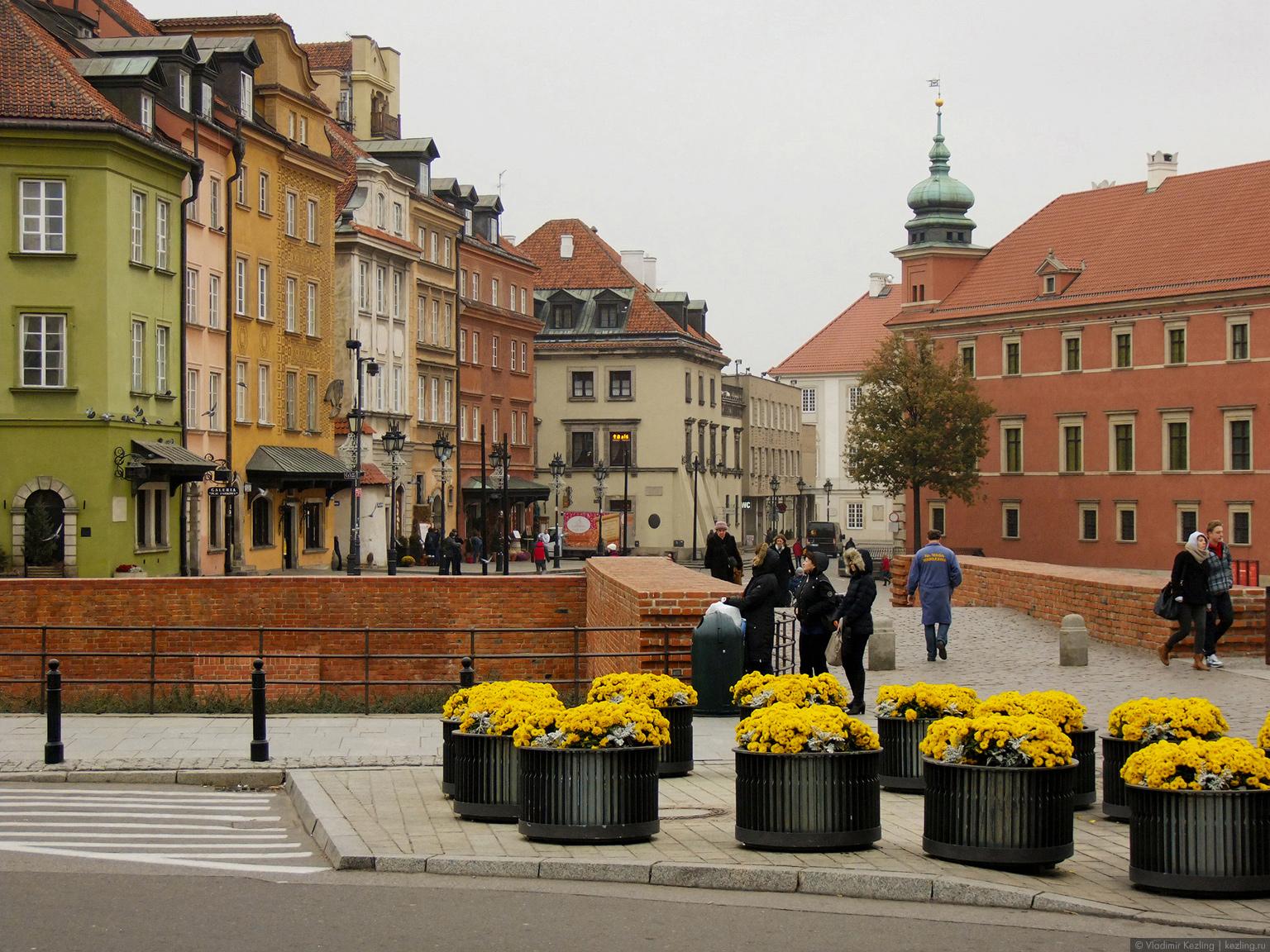 Польские туманы. Варшава. Близкое знакомство