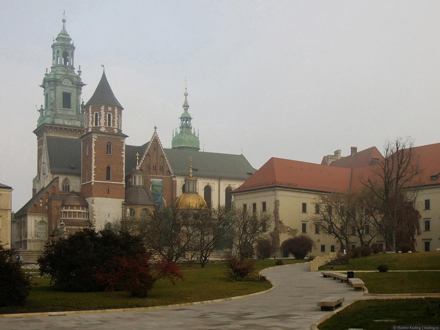 За туманами в Польшу. Краков. Вавель