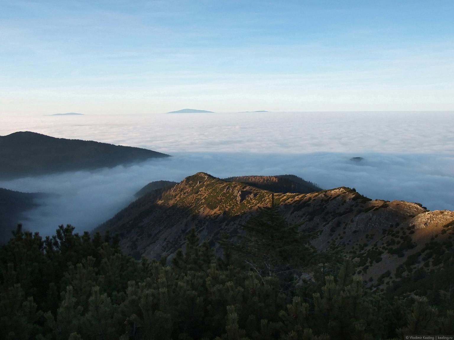 Польские туманы. Дорога в облака