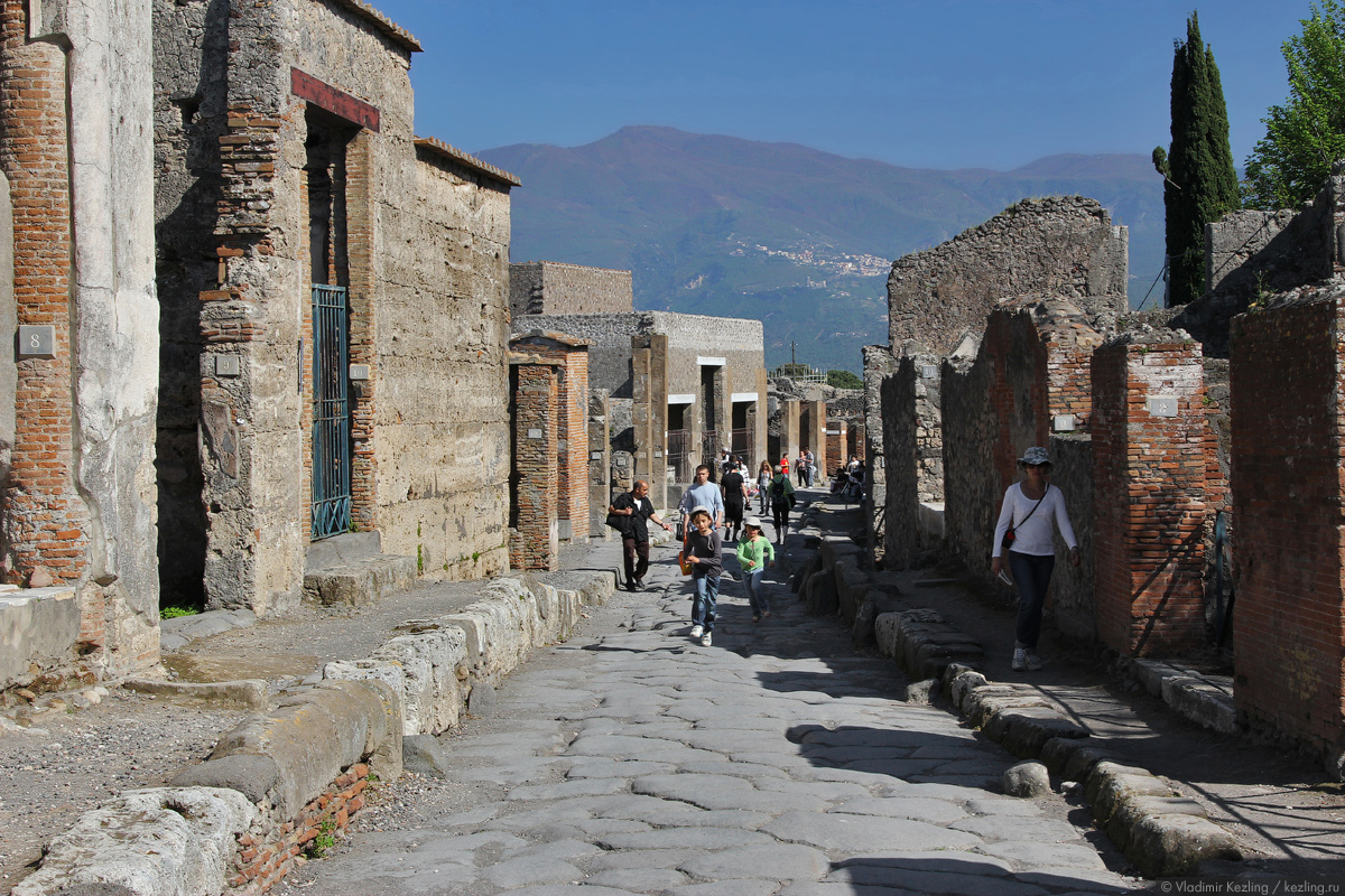 Итальянские каникулы. Помпеи