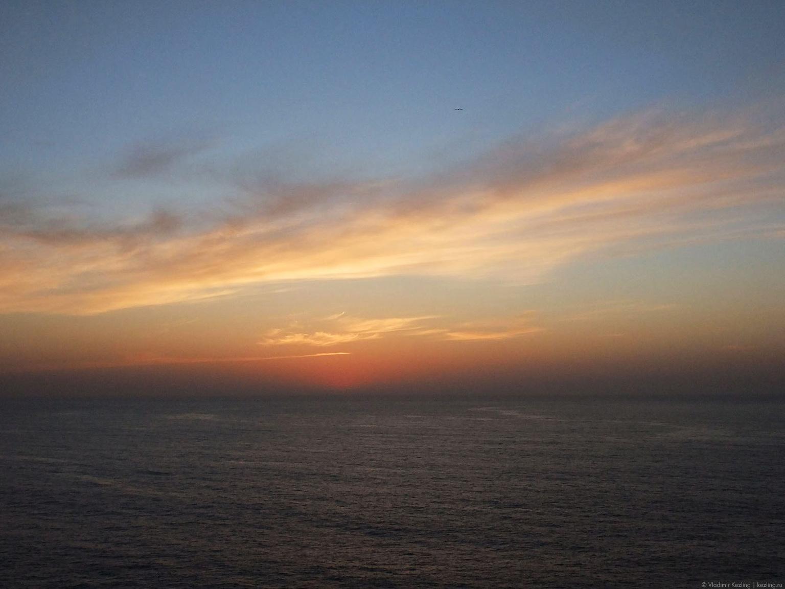 Закат на мысе Сан-Висенте