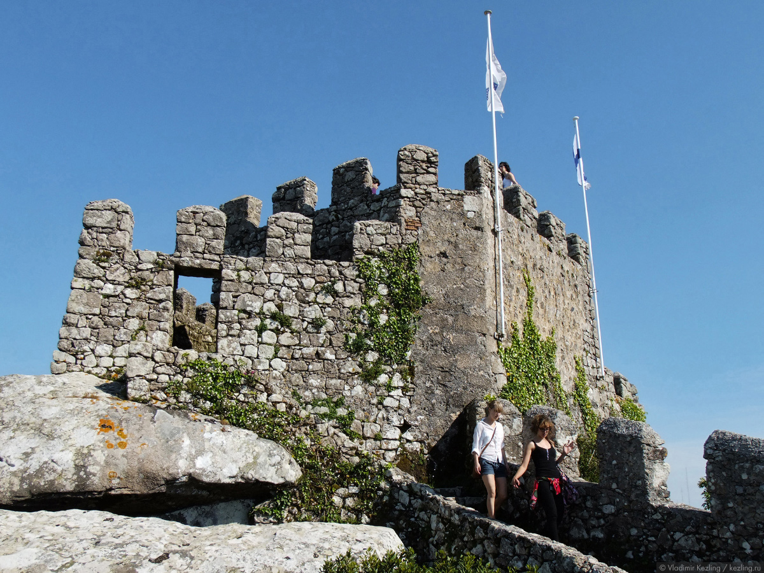 Синтра. Замок мавров.