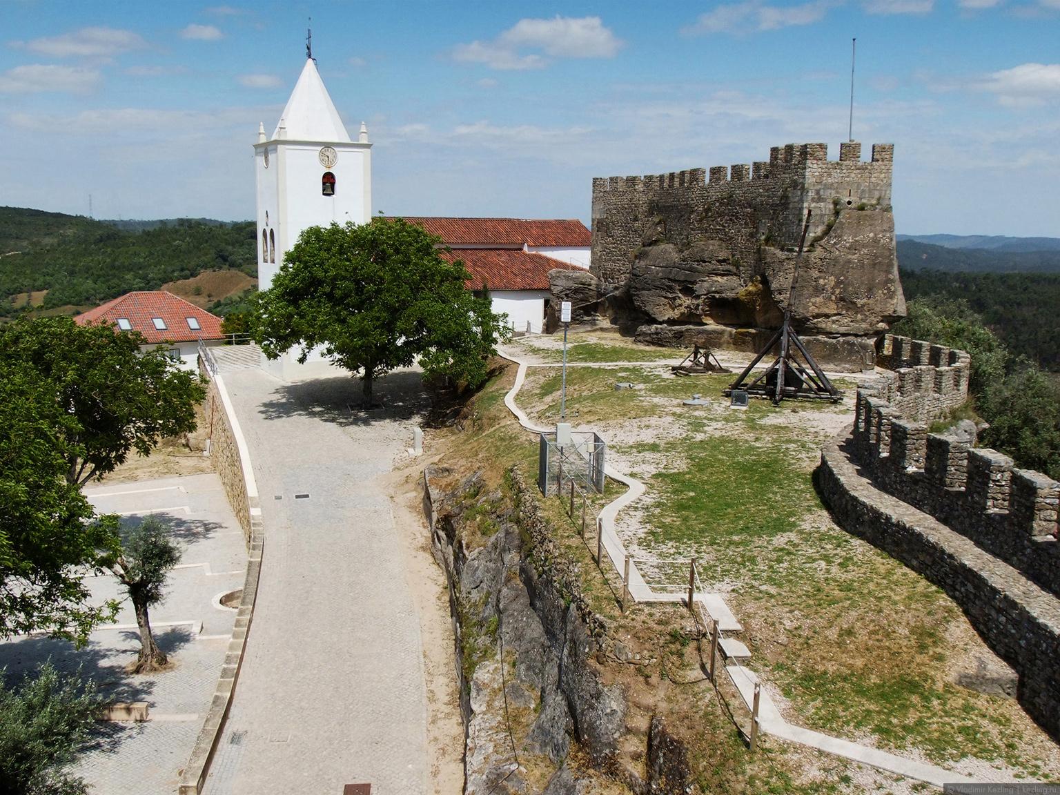 Весна в Португалии. Замок Пенела