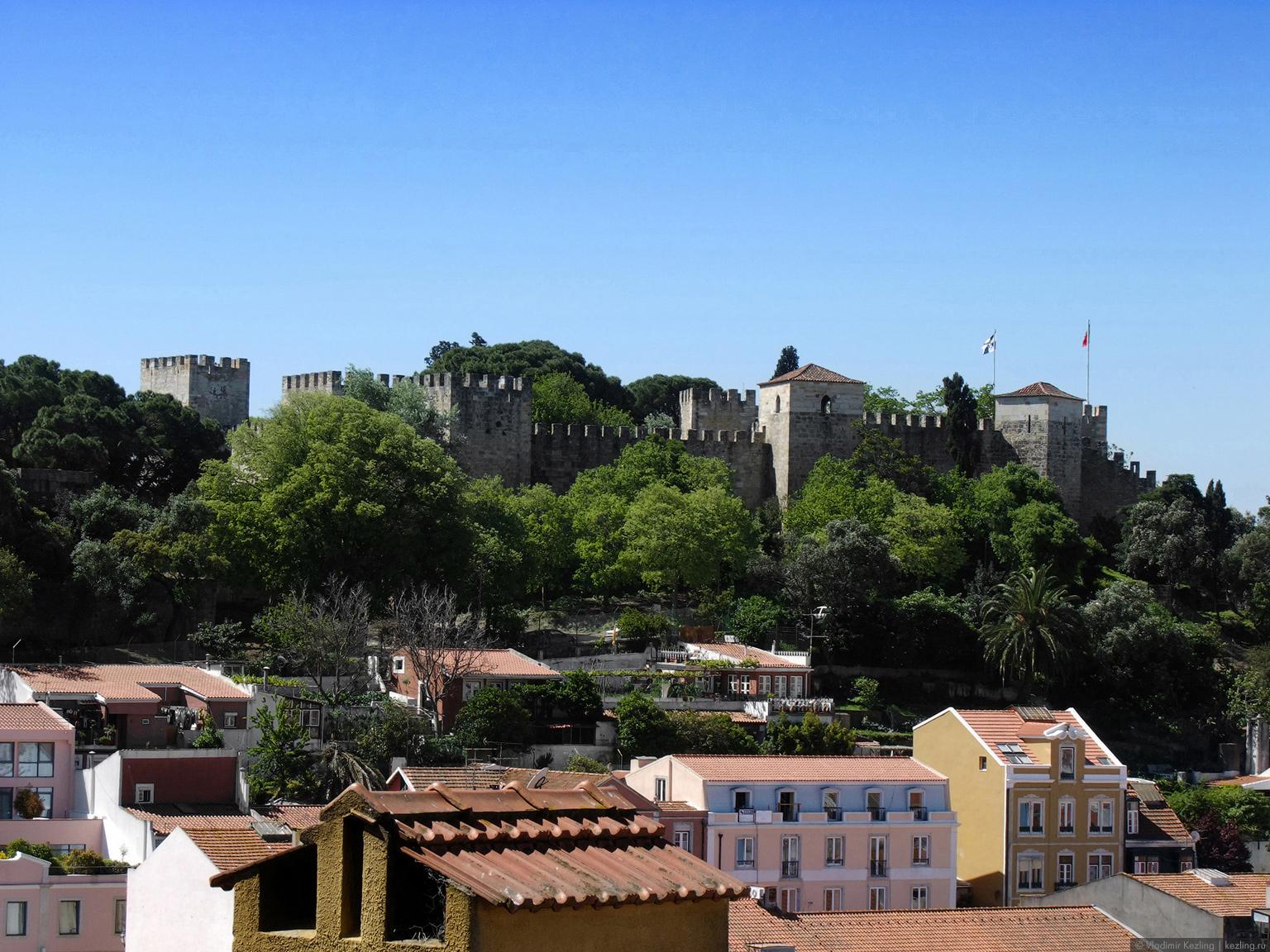 Вид с Мирадору-да-Граса