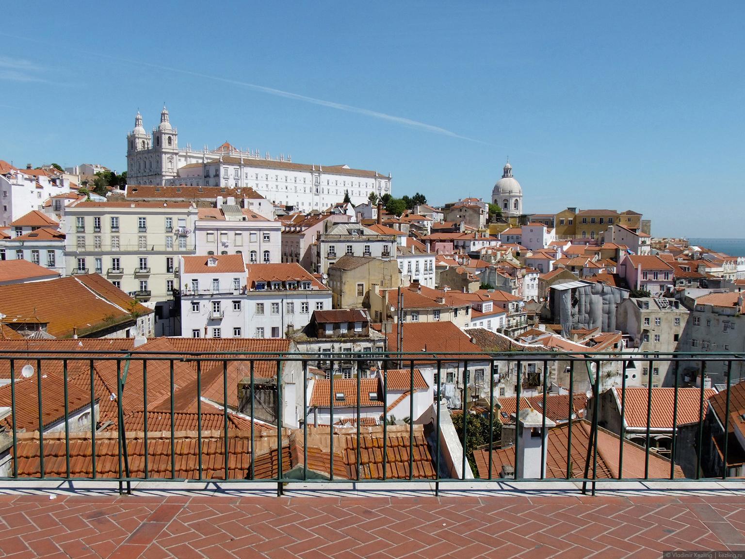 Весна в Португалии. Лиссабон. Прогулка. Часть 1