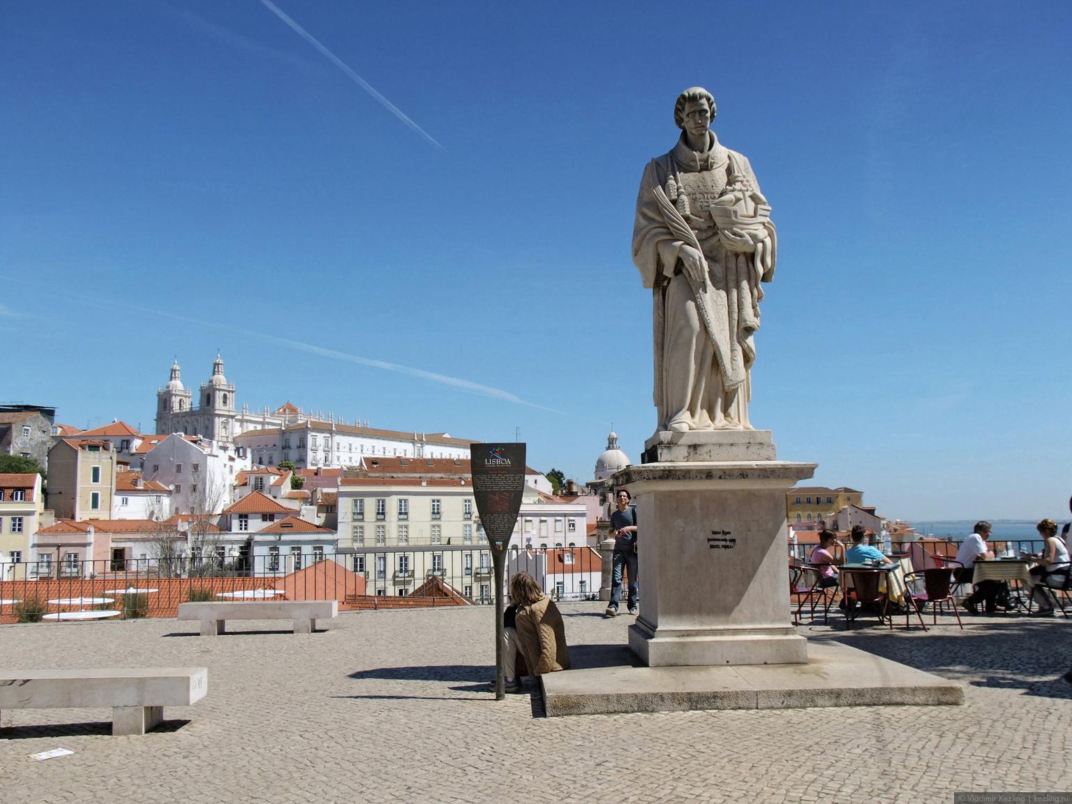 Памятник Святому Винсенти