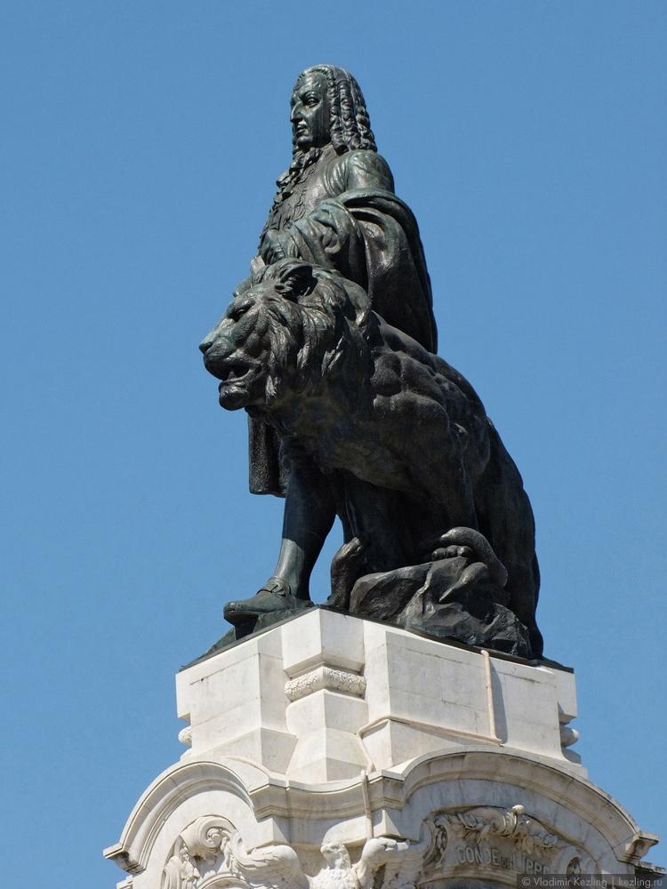 Памятник маркизу Помбалу