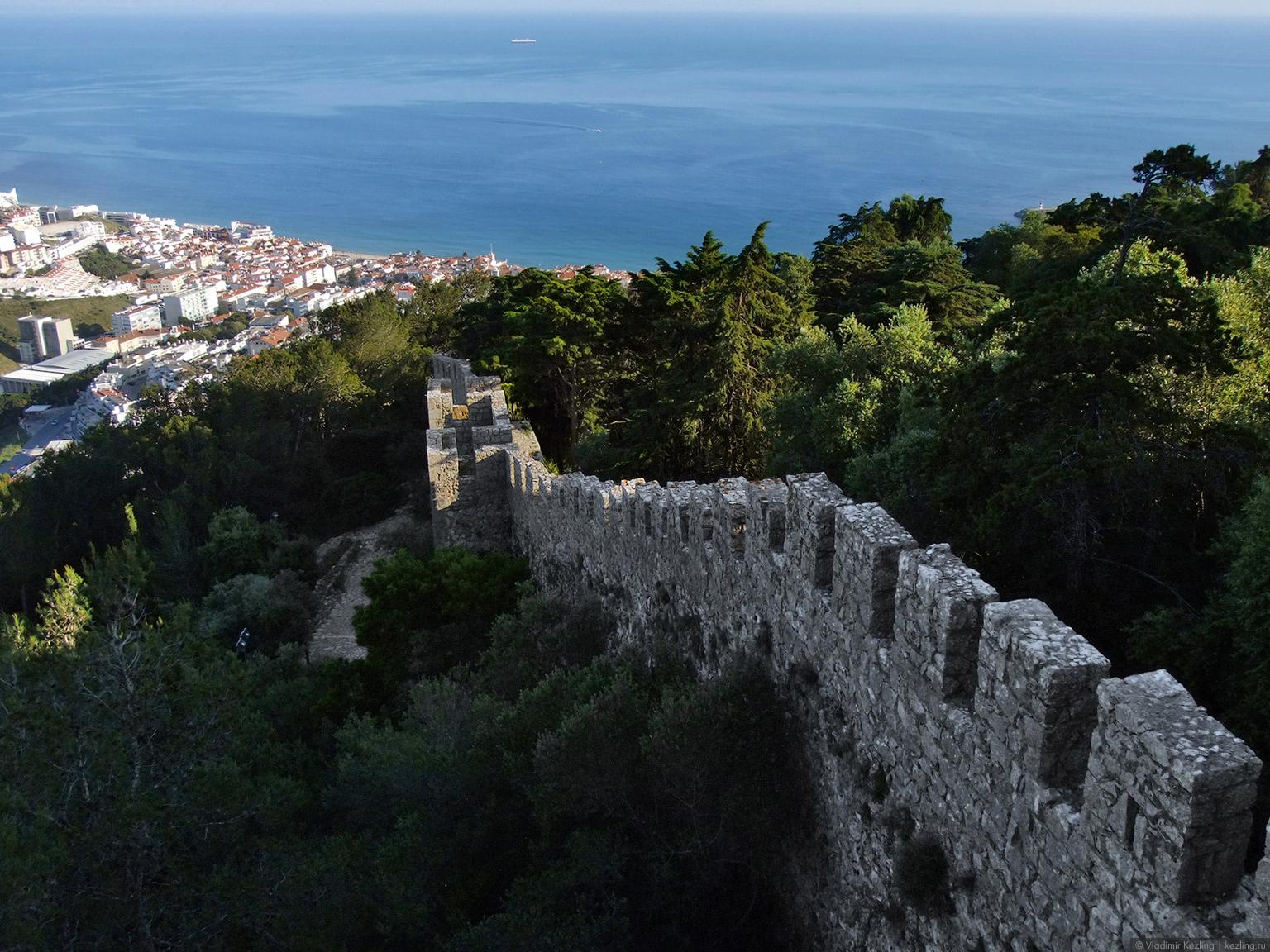 Португалия. Замок Сезимбра