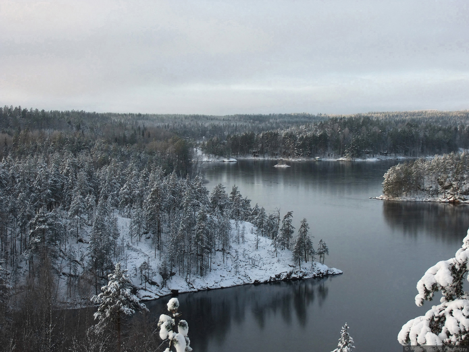 Финские уикенды. Национальный парк «Реповеси» зимой. Южная часть