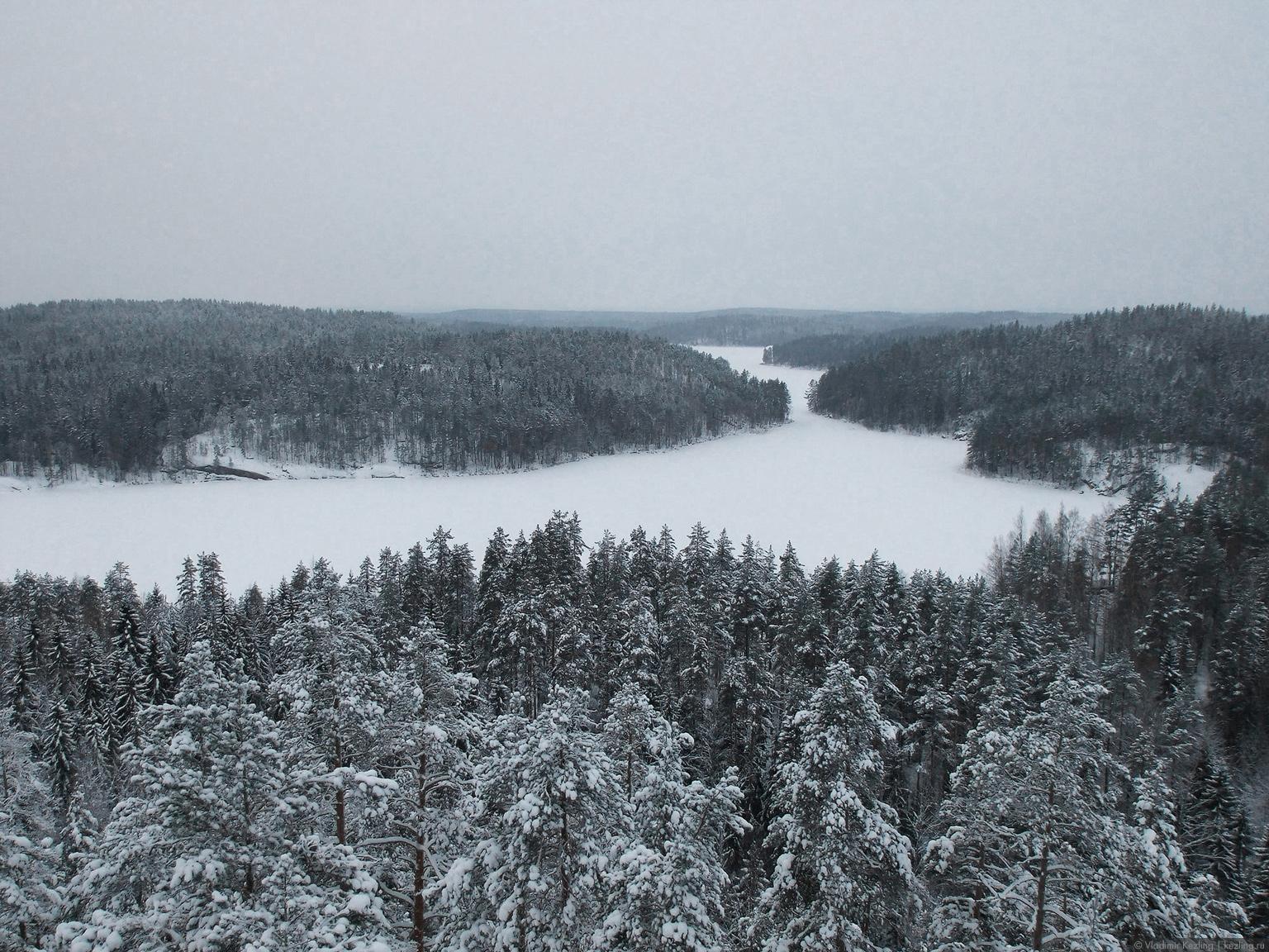 Финские уикенды — 2. Национальный парк «Реповеси» зимой. Северная часть